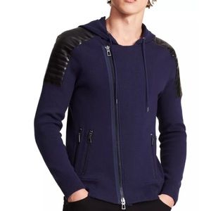 Calvin Klein Slim Fit Zip-up Hooded Sweater
